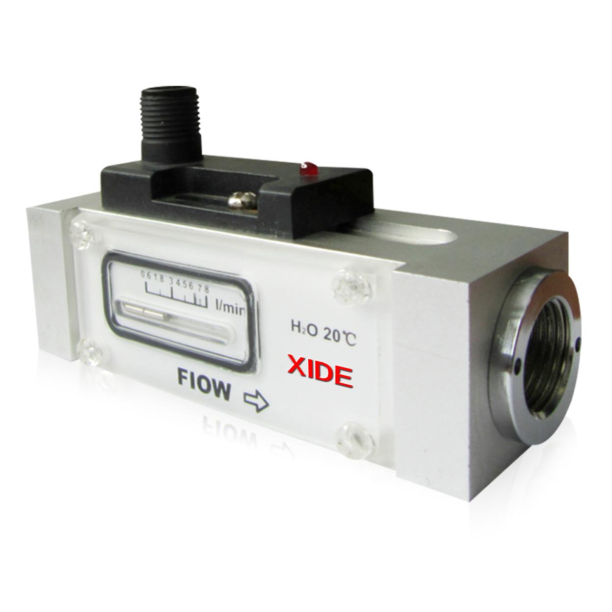 ★04FE40气液活塞式显示流量开关定制版XIDE新西德传感器电子设备制造厂@流量显示开关