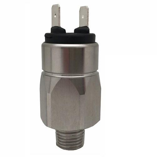 title='★32,PS12-B 压力开关 (50-200 bar) 柱塞式压力开关,安全过压不超过600bar,6.4mm插片式接线端。'